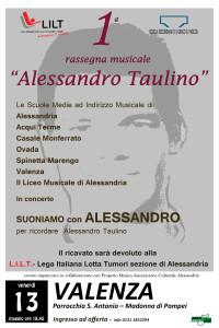 Parrocchia S.Antonio Madonna di Pompei - ore 18.45 Le orchestre delle SMIM con il Liceo Musicale per ricordare Alessandro Taulino